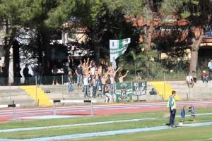 Gli ultras presenti a Francavilla