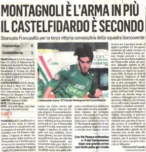 Montagnoli l'arma in più -  Corriere Adriatico