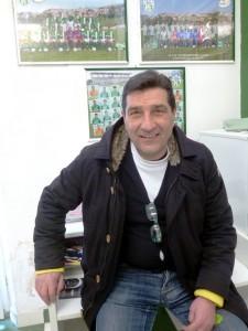 Il team manager del Castelfidardo Raniero Ragaglia