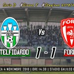 Castelfidardo-Forlì 1-1