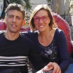 Gianluca Carotti insieme alla compagna Elisa Del Vicario