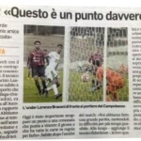 Corriere Adriatico - post partita