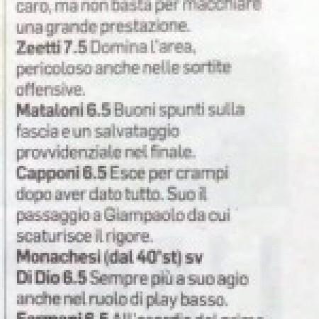 Corriere Adriatico - pagelle